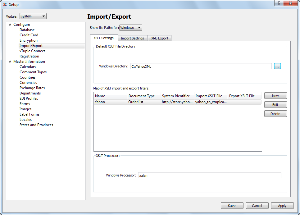 13 1 4  Configure Import and Export